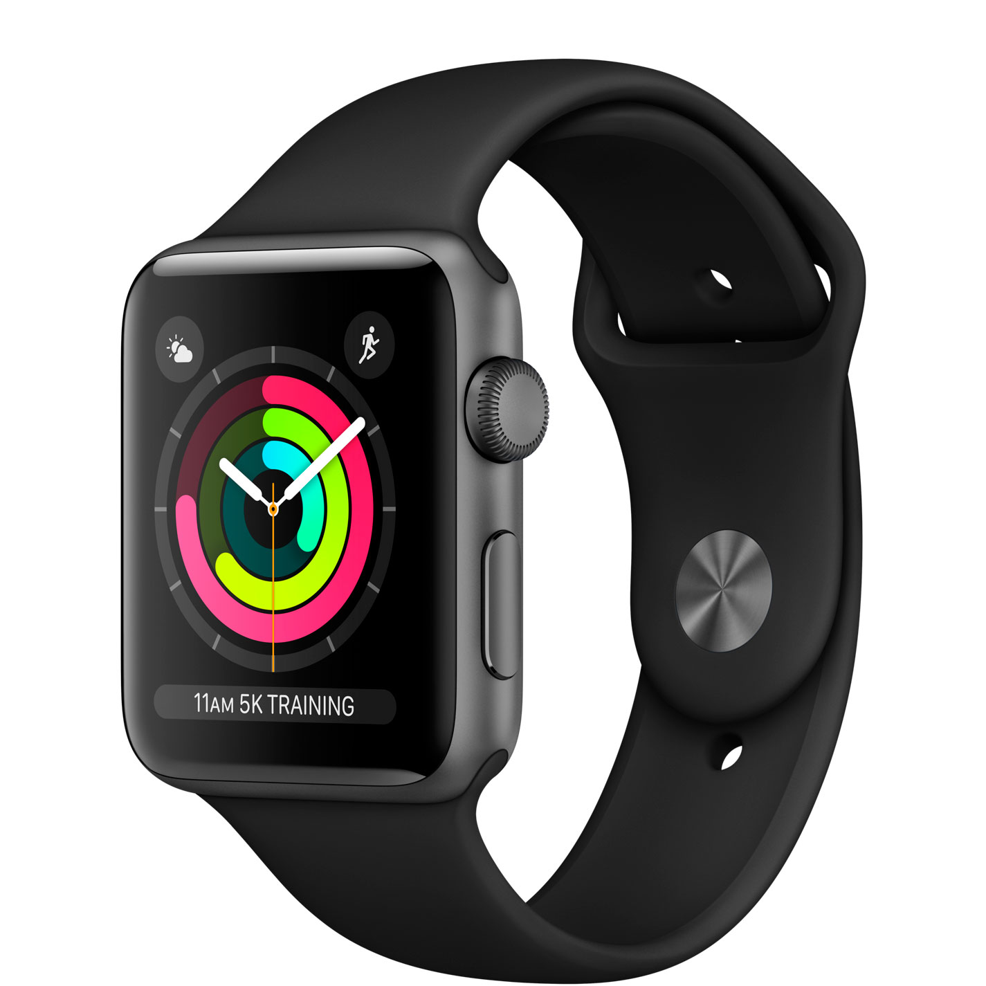 Apple Watch Series 3, 42mm (серый космос)