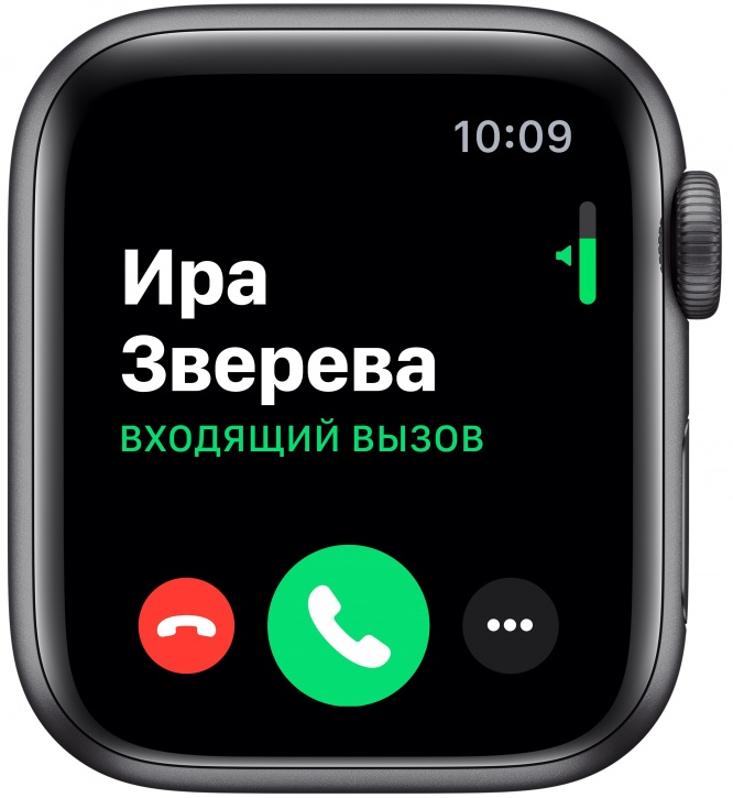 Apple Watch Series 5, 44 мм (серый космос)