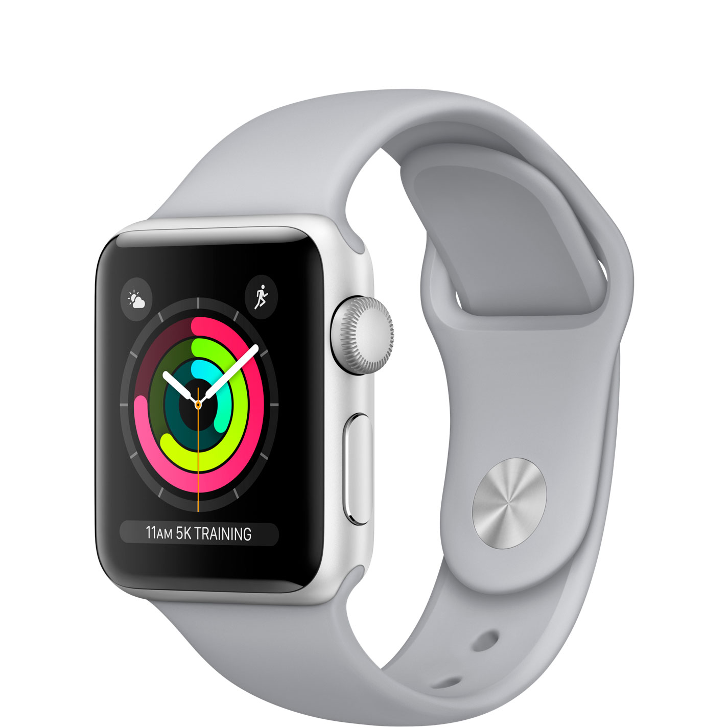 Apple Watch Series 3, 38mm (серебряный)