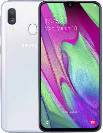 Samsung Galaxy A40 4/64Gb Белый